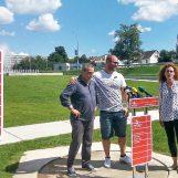 Gradonačelnik Bandić i Stipe Žunić najavili kuglački spektakl na fontanama