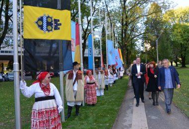 U Zagrebu je otvoren Park mira i prijateljstva