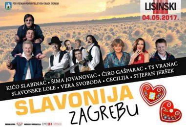 "Koncert ""Slavonija Zagrebu"" u Lisinskom"