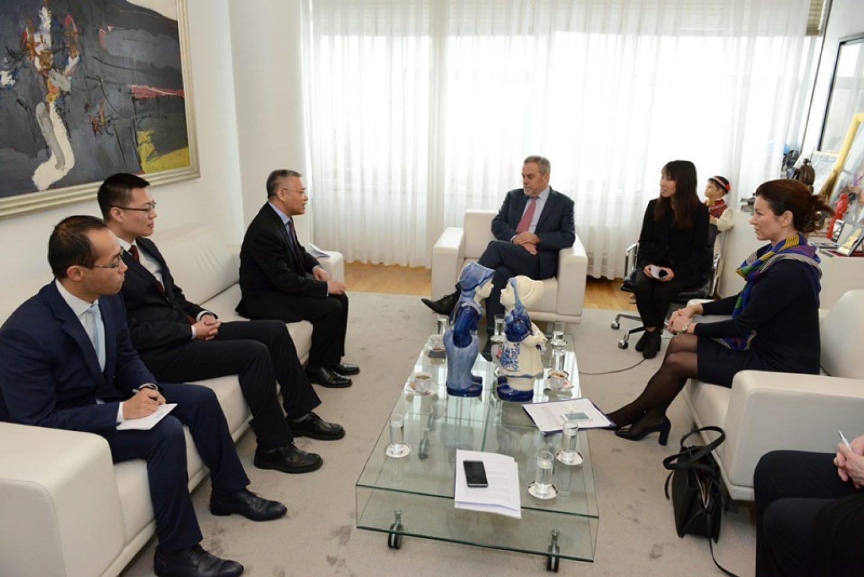 Nastupni posjet veleposlanika Narodne Republike Kine Nj. E. Hua Zhaominga