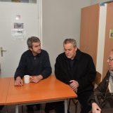 Gradonačelnik Bandić obišao Prihvatilište za beskućnike u Kosnici