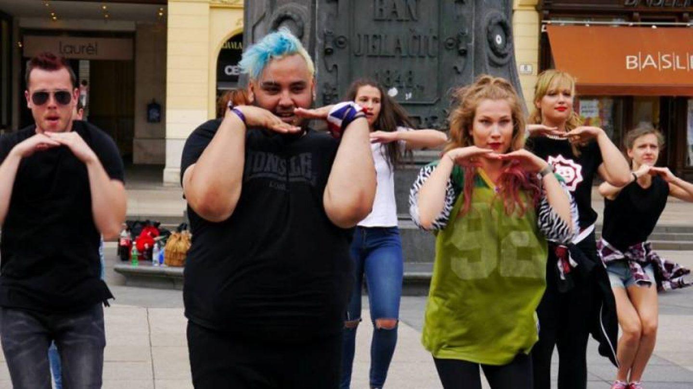 Multijezični glazbeni video spot snimljen u Zagrebu uz podršku Erasmus plus programa i Europske Unije