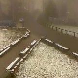 Stiglo zahlađenje, na Sljemenu pao snijeg!