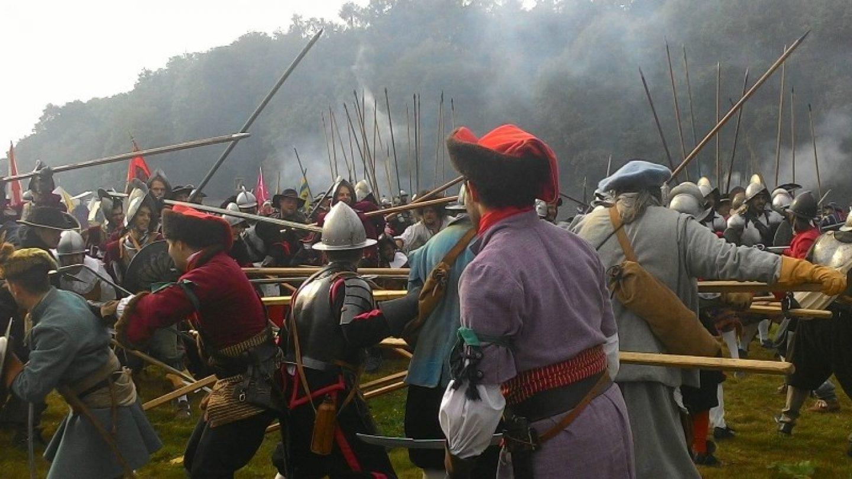 Kravat pukovnija sudjelovala u spektaklu uprizorenja bitke na Bijeloj Gori!