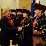 Predsjednica primila Kravat pukovniju na Pantovčaku