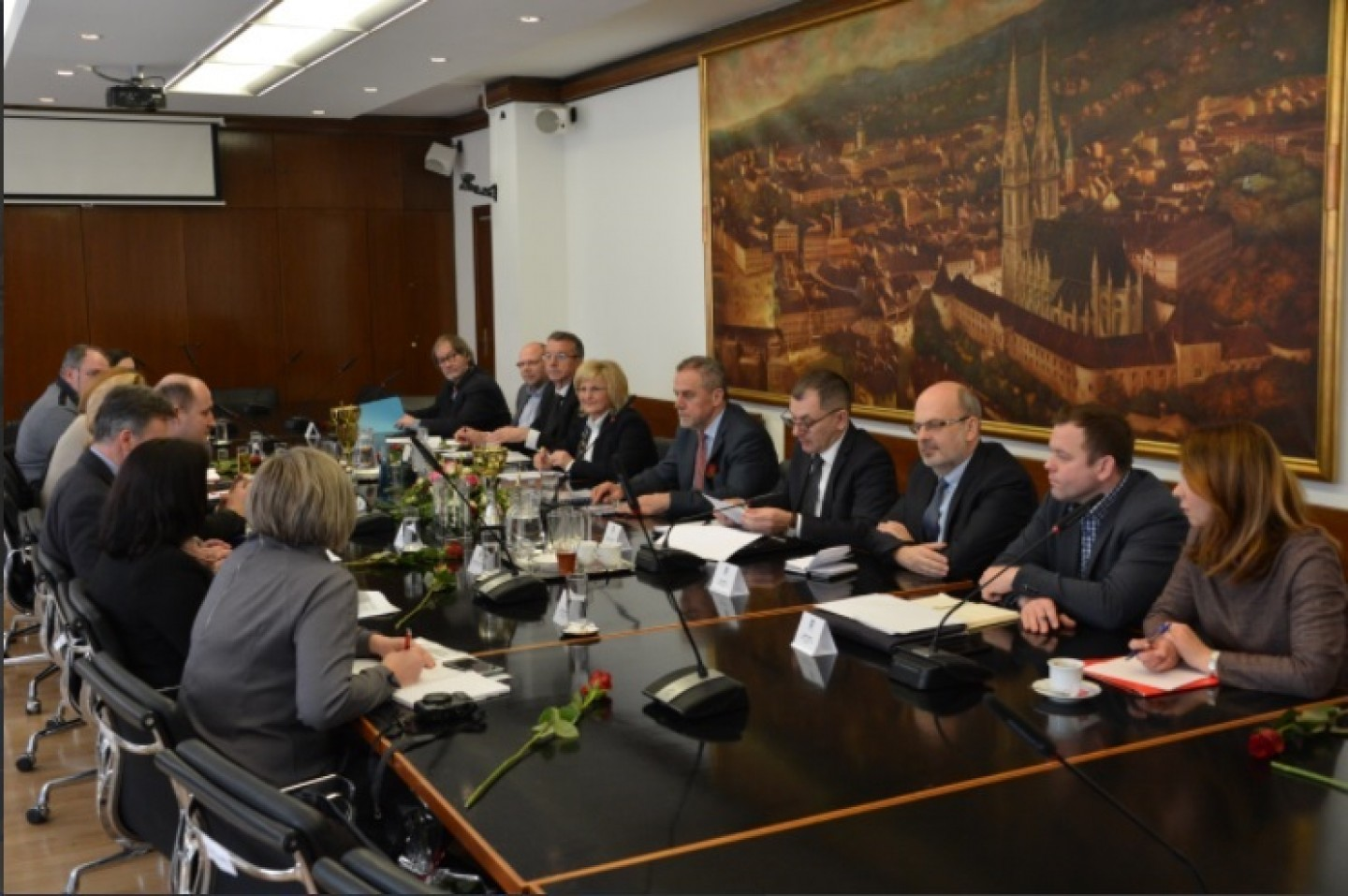 Predstavnici Čeha U RH i Grad Zagreb postavljaju spomen ploču ŠENOE U PRAGU