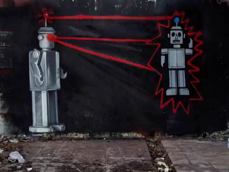 Street art umjetnik LONAC impresivnom animacijom oživio još jedan oronuli zid!