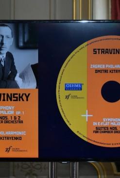 Zagrebačka filharmonija predstavila novi CD sa skladbama Igora Stravinskog