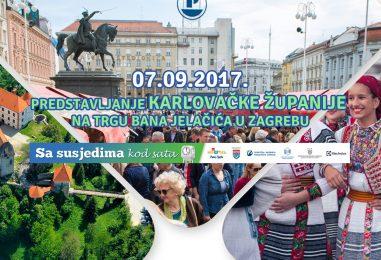 """Rakovica u Zagrebu: Na trgu bana Jelačića """"Sa susjedima kod sata"""""""