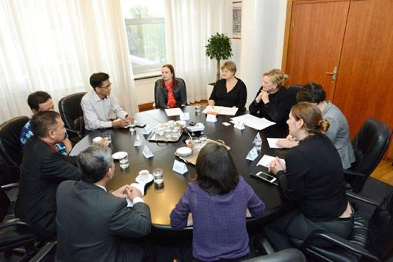 Sastanak s predstavnicima grada Semaranga