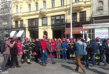 Vježba civilne zaštite grada Zagreba