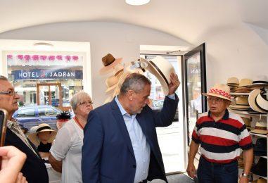 Otvorenje nove trgovine Cahun šeširi i kape