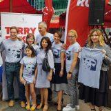 Humanitarnom prodajom majica najavili utrku Terry Fox Run