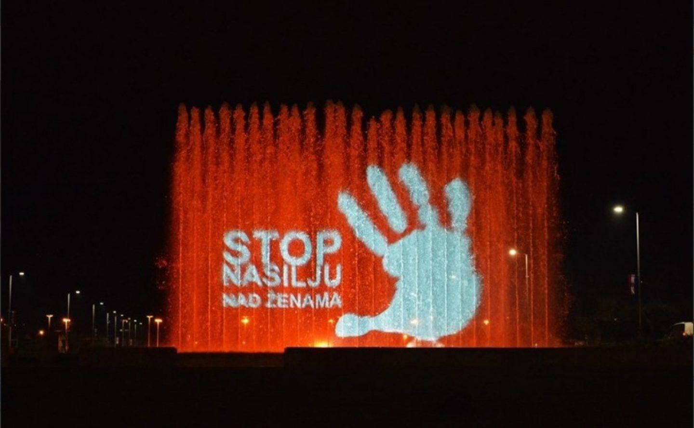 Od nasilja u Hrvatskoj umre 20 žena godišnje: FONTANE U NARANČASTOM u znak potpore žrtvama nasilja