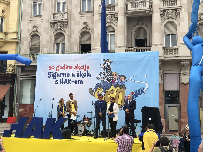 Akcija SIGURNO U ŠKOLU s HAK-om održava se u školama širom Hrvatske