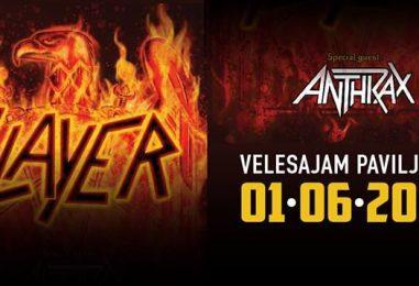 Slayer i Anthrax u Zagrebu