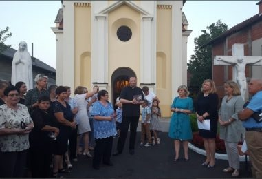 Proslava blagdana Avete Ane, zaštitnice Odranskog Obreža i janjin Svetoj Ani na dar