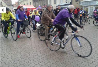 Biciklirali u centru Zagreba u znak podrške osobama s epilepsijom