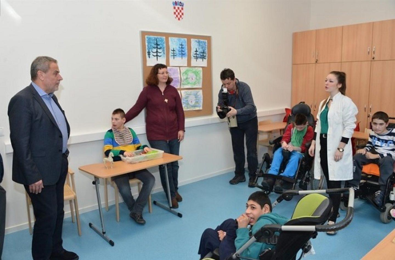 Dostojanstveniji i udobniji prostor za djecu s poteškoćama u razvoju Centra Goljak