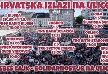 KUHA U HRVATSKOJ Organizatori pozivaju PROSVJEDNIKE: Ne dajte da vas politika iskoristi!