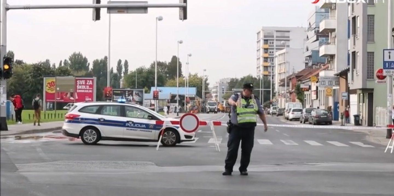 POPLAVA NA TREŠNJEVCI: Zatvorena Selska cesta zbog puknuća magistralnog vodovoda!