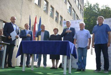 Položen kamen temeljac za gradnju Centra za sigurnost i kvalitetu hrane