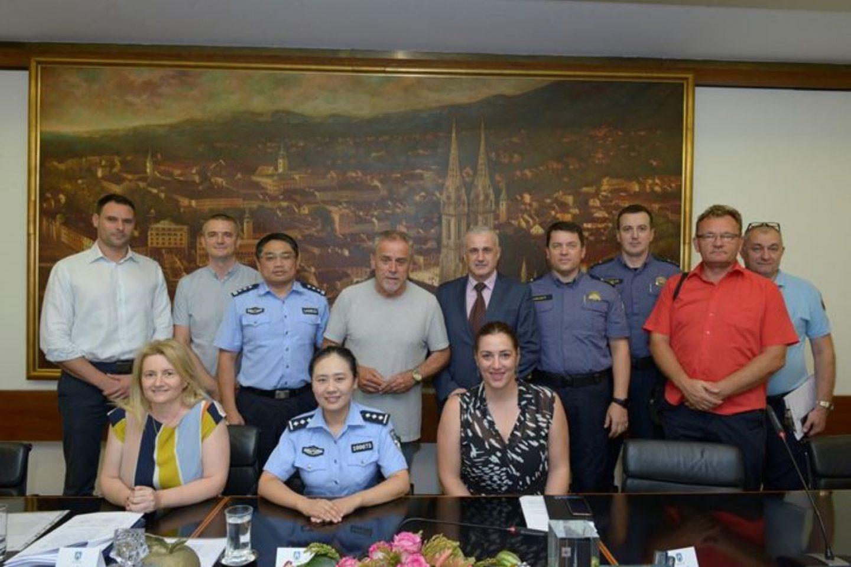 Kineski policajci rade u Zagrebu za maksimalnu sigurnost turista i Hrvata