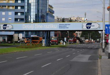 Sanacija kolnika na Vukovarskoj i Vinogradskoj ulici