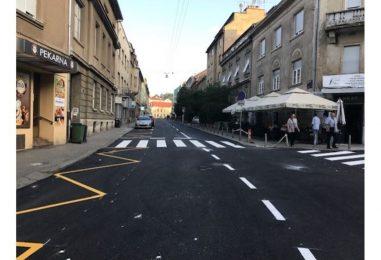 Završena obnova Vinogradske, koja je u subotu puštena u promet
