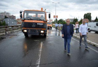 Puštanje u promet Ulice grada Vukovara i početak radova na Zagrebačkoj aveniji