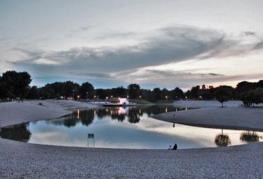 Na jezeru Bundek zabranjeno kupanje
