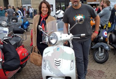 Susret ljubitelja motocikla Vespa Crovespa 2019.