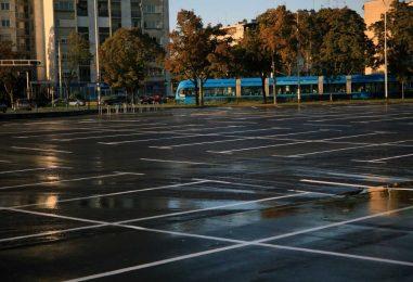 Otvoreno obnovljeno parkiralište na Borongaju