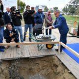 Započela izgradnja Spomenika domovini – ispred Koncertne dvorane Lisinski