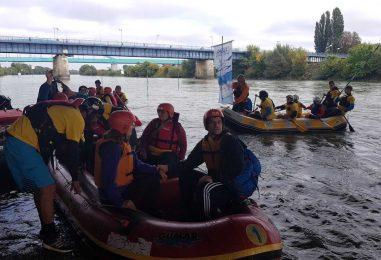 Foto rafting za slijepe i djecu iz obitelji nacionalnih manjina