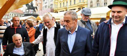 Nakon zagoraca stigli slavonci, započeli Započeli Dani Slavonije u Zagrebu