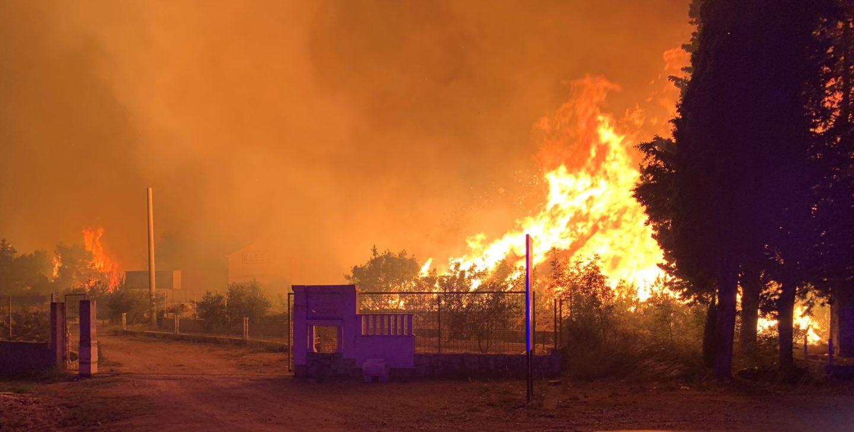 Završetak glavnog napora požarne opasnosti