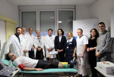 Grad Zagreb kupio KBC-u uređaj koji rano otkriva bolest koja uzrokuje amputacije nogu