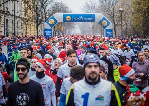 Zagreb Advent Run okupio više od 3000 sudionika koji su preplavili centar Zagreba