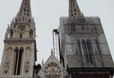Jutarnji doznaje: Rušit će se i sjeverni toranj zagrebačke katedrale!
