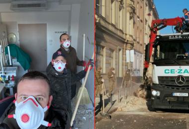 C.I.O.S. grupa stavila se na raspolaganje zagrebačkom gradskom stožeru
