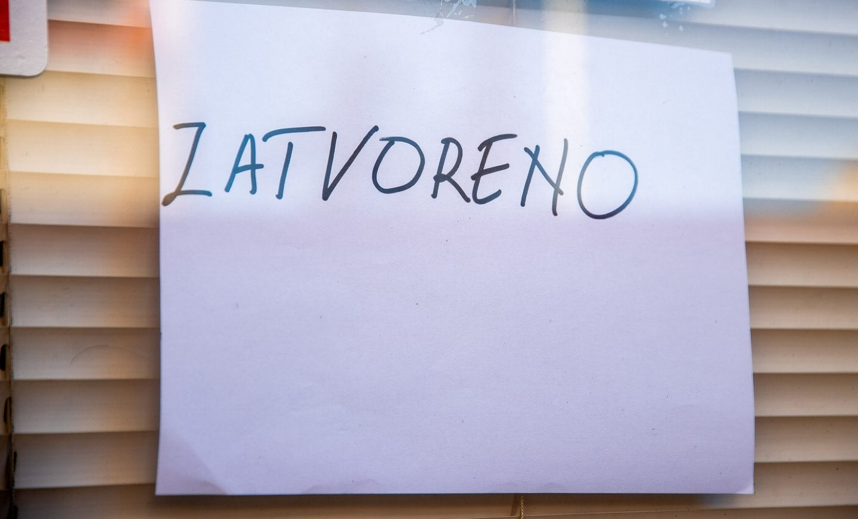 Od danas sve trgovine u Hrvatskoj rade skraćeno!