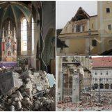 Crkve u Zagrebu teško oštećene, pogledajte fotografije