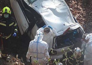 Autom sletjeli u provaliju na Medvednici, spašavali ih vatrogasci i hitna