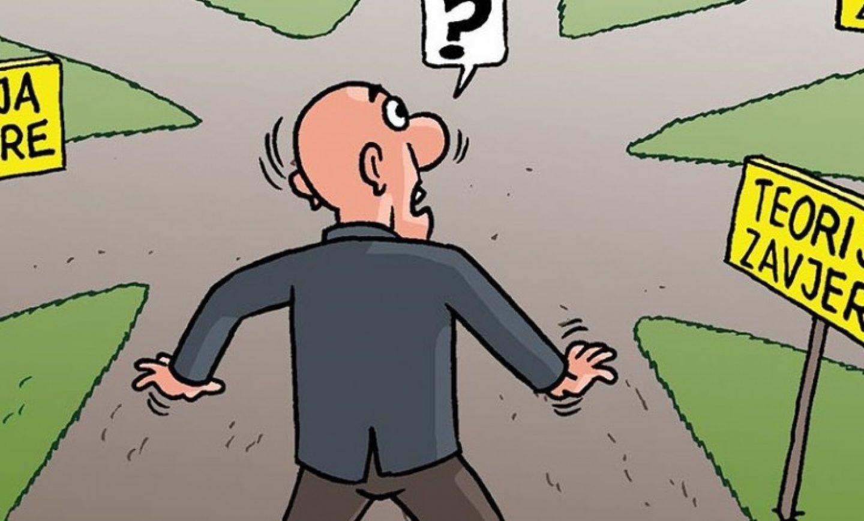 Stiv Cinik: Teorija zavjere