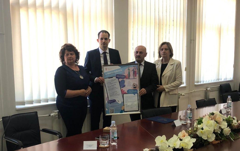 Gospić među prva tri grada u Hrvatskoj koji su pristupili usluzi e – Novorođenče