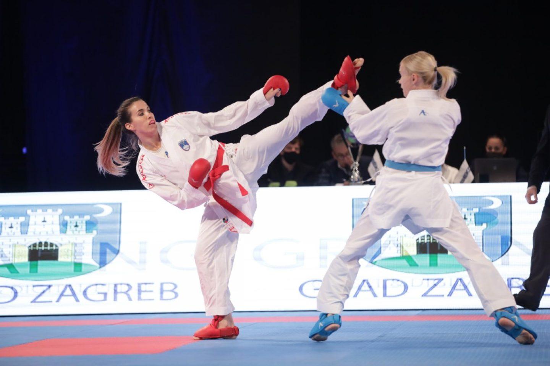 Otvorenje karate natjecanja Top Ten za žene u sklopu 18. Zagreb Karate Festa
