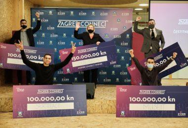 Zagreb Connect: Grad Zagreb dodijelio 550.000 kuna najboljim Startup Factory timovima