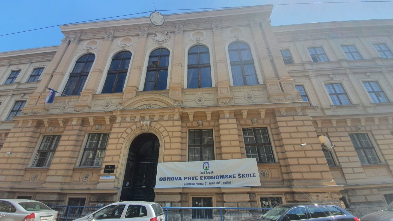 Počela II. faza radova na obnovi Prve ekonomske škole